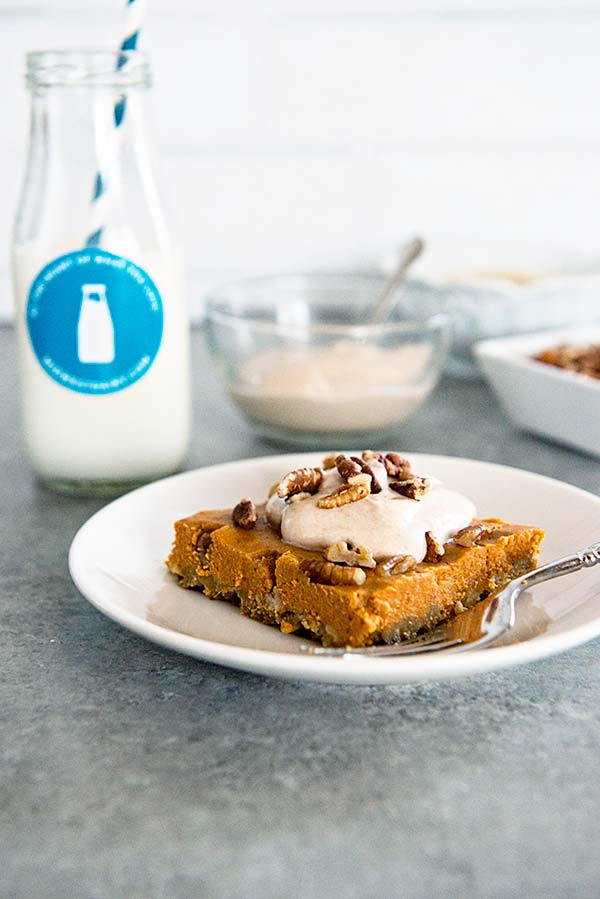Midwest Dairy Pumpkin Squares recipe