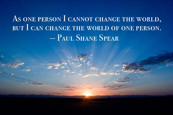 Paul Shane Spear Quote