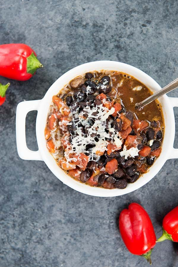Spicy Black Bean Soup is only 3 Weight Watchers Smart Points per Serving