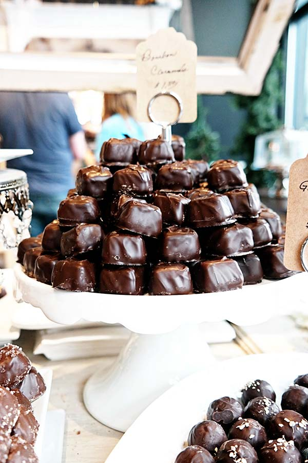 The Cordial Cherry truffles and chocolates on Omaha Culinary Tour