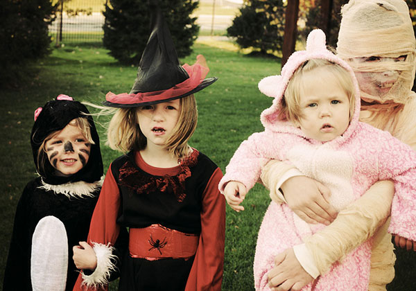 The Doyle Kids Halloween 2010 Ella Kelly Jacob and Leah