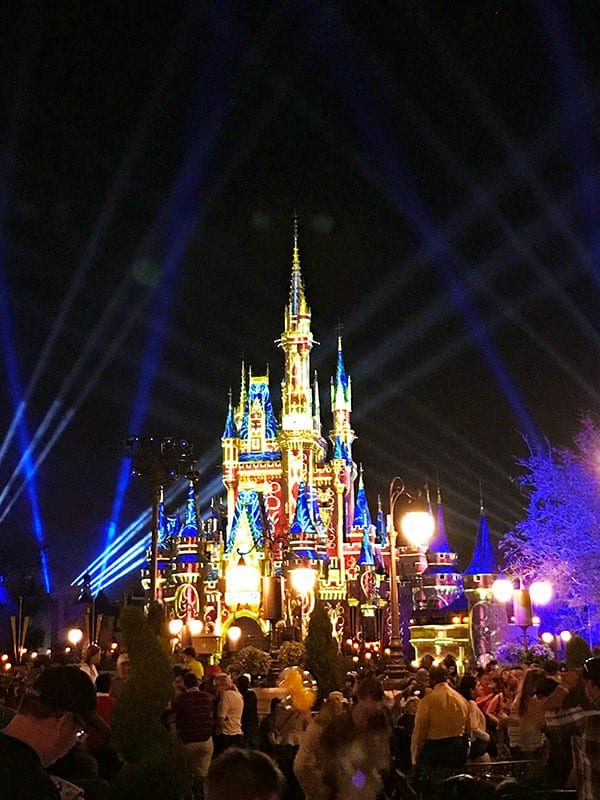 Happily Ever After at Magic Kingdom