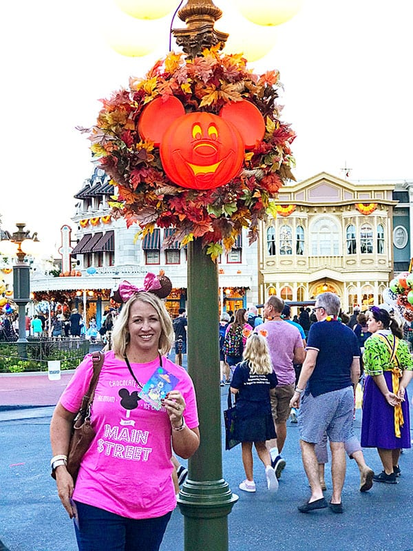 Kristen at Mickey's Not So Scary Halloween Party at Magic Kingdom