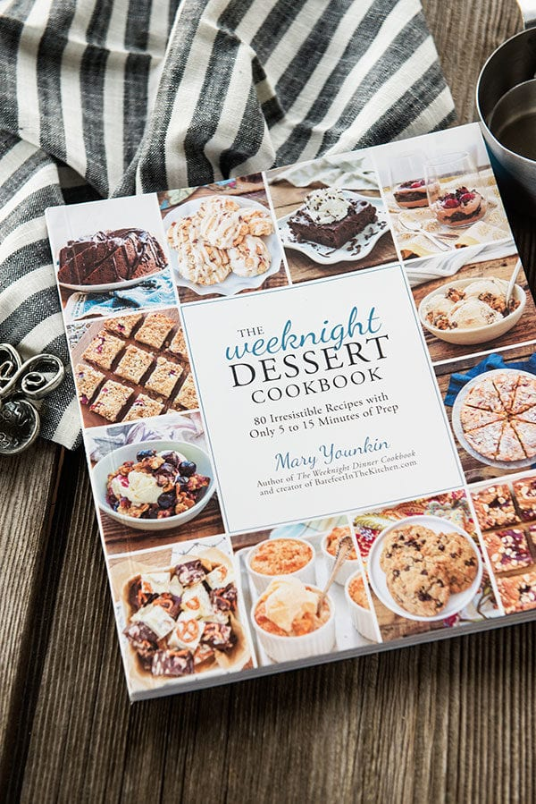 Cover of the Weeknight Dessert Cookbook by Mary Younkin