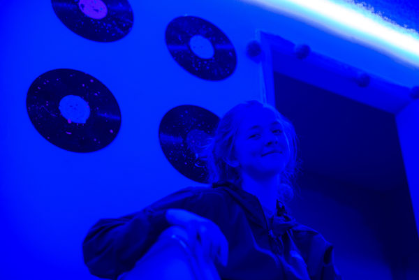 Kelly Doyle in Blue Lights